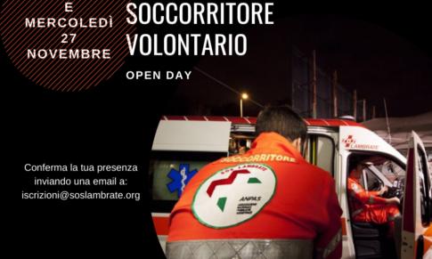 OPEN DAY soccorritore volontario
